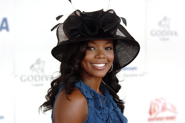Actress Gabrielle Union at Derby